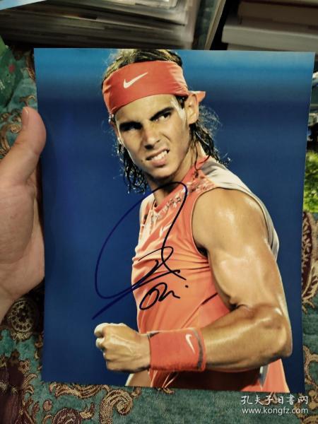 """【签名照】著名网球运动员,""""红土之王"""" 拉菲尔·纳达尔 签名照"""