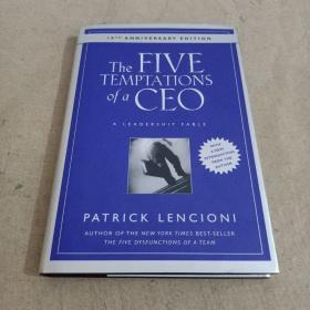 The Five Temptations Of A Ceo CEO的5大诱惑:领导神话