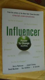 Influencer:The Power to Change Anything  英文大32开 影印本,字迹很清楚