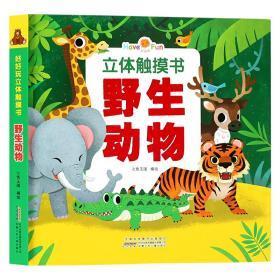 好好玩立体触摸书 七色王国 9787539797144 安徽少年儿童出版社 正版图书
