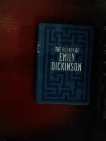 The Poetry of Emily Dickinson(狄金森诗集)仿羊皮软精装,2015年新书