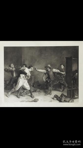 ���х�哥�������伙�La Rice锛�The Duarrel锛�锛��昏��:Meissonier