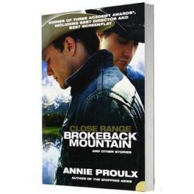 断背山 英文原版Close Range Brokeback Mountain安妮普鲁短篇小说集