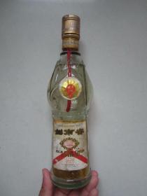 剑南春玻璃老酒瓶