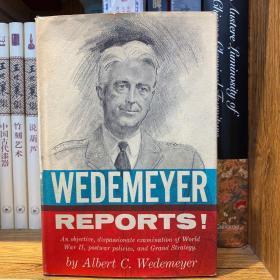 美国陆军上将、盟军中国战区参谋长、获赠青天白日勋章 魏德迈(Albert Coady Wedemeyer,1897年7月9日-1989年12月17日) 签赠超长题词本 回忆录《魏德迈报告》(Wedemeyer Report)1958年初版 1959年五印 硬精装 书衣完好