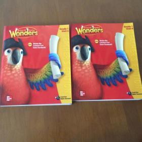 Wonders McGraw-Hill Reading G1 Teacher's Edition Unit(5-6)2本合售