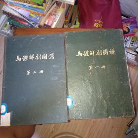 马体解剖图谱(第一册,第二册)两本合售