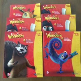 Wonders McGraw-Hill Reading G1 Teacher's Edition Unit(1-6)6本合售