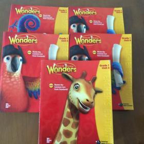 Wonders McGraw-Hill Reading G1 Teacher's Edition Unit(2-6)5本合售