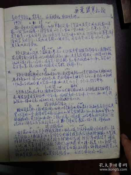 特务笔记 70年代的,内容写的很奇怪 看不懂