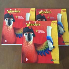 Wonders McGraw-Hill Reading G1 Teacher's Edition Unit(4-6)3本合售