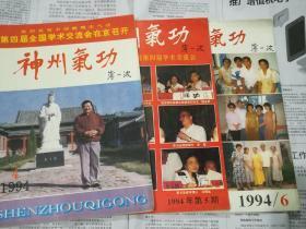 神州气功 1994年第4/5/6、期