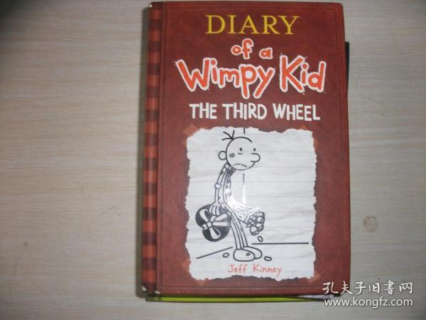 Diary of a Wimpy Kid #7: The Third Wheel  小屁孩日记7:电灯泡