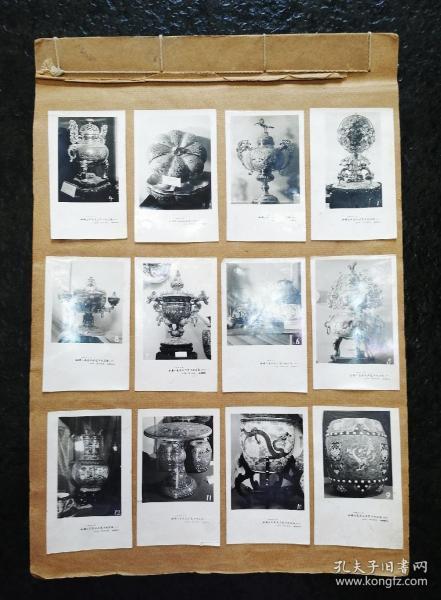 全国工艺美术展览老照片27页301张,老照片不重样,相册尺寸:39*27cm,照片尺寸:10*6.7cm