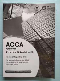 正版二手 ACCA Practice Revision Kit Financial Reporting(FR)9781509724000
