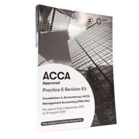 正版二手 ACCA FMA/MA (对应F2)练习册 Foundations in Accountancy/Management Accounting Revision Kit 9781509724130