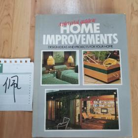 A pictorial guide to HOME IMPROVEMENTS