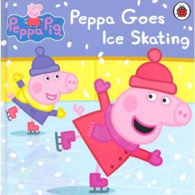 Peppa Pig:Peppa Goes Ice Skating[Boardbook]小猪佩奇卡板故事书:去滑冰