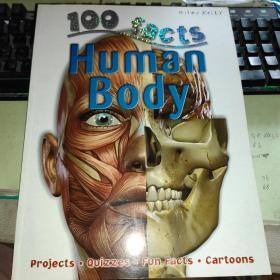 100 facts Human Body(100 Facts)大16开原版外文书