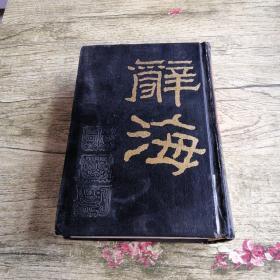 辞海(上册)