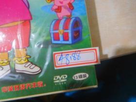 爱冒险的朵拉    DVD   1-52集全     13碟全                                                存21层