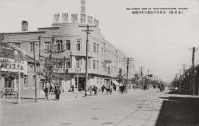 百年前辽宁安东(丹东)的城市风情照片17张5吋的