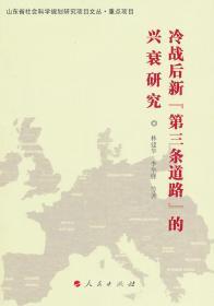 """冷战后新""""第三条道路""""的兴衰研究 林建华 人民出版社 9787010104867"""