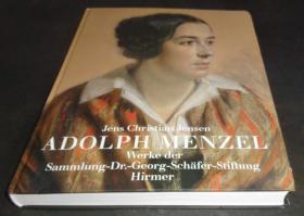 2手德文 Adolph Menzel: Gemälde, Gouachen, Aquarelle, Zeichnungen 门采尔 xgd59