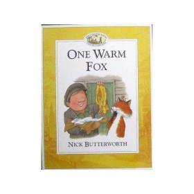英文原版绘本  ONE WARM FOX  得到温暖的狐狸 (动物园管理员珀