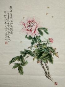 荣宝斋木版水印精品:于非闇大牡丹