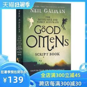 好兆头(剧本) 英文原版 The Quite Nice and Fairly Accurate Good Omens Script Book影视剧本 美剧 进口书