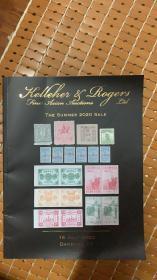 美国罗杰斯2020年夏季邮票拍卖目录1本