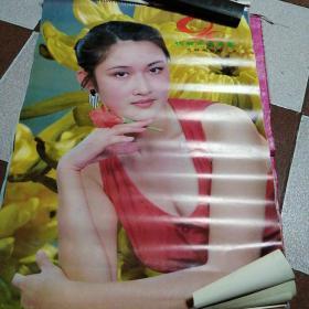 祝君永葆青春美女挂历13张全(1990年)