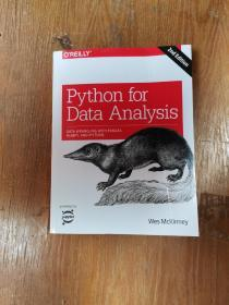 Python for Data Analysis:Data Wrangling with Pandas, NumPy, and IPython