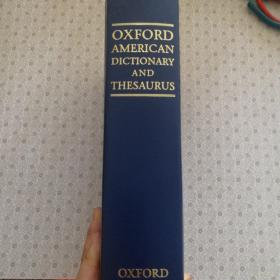 Oxford American Dictionary and Thesaurus with Language Guide 牛津美语辞典及类语辞典