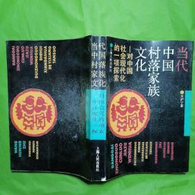 当代中国村落家族文化一 对中国社会现代化的一项探索