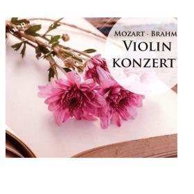 莫扎特和勃拉姆斯小提琴音乐会专辑 CD 华纳唱片车