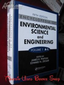 Encyclopedia of Environmental Science and Engineering(Fifth Edition, 2 Volume Set)环境科学与工程百科全书(全2卷集 第5版 英语原版 精装本)