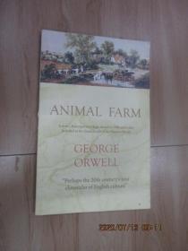 英文书:ANIMAL   FARM   GEORGE  ORWELL  共91页    16开  详见图片