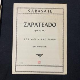 琴谱 ZAPATEADO
