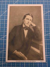 {会山书院}110#欧洲1910年左右(绅士)空白未使用明信片-收藏集邮-复古手账-外国邮政