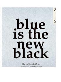 英文原版 Blue is the New Black: The 10 Step Guide to Developing and Producing a Fashion Collection 蓝色是新的黑色原