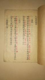 清代手写本诗文集《尤西堂诗集》书法精良 一册全 详情见图