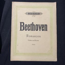 琴谱 Beethoven Romanzen
