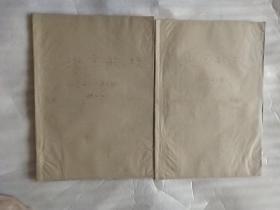 原版创刊号报纸  北京航校【1959年1月1日-1960年7月18日】总第1期 创刊号-总第80期 私订2本  合售