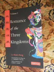 英文版 三国志演义:Romance of the Three Kingdoms volume 1