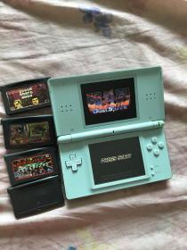 NDSL游戏机 韩国版  带卡 和4张GBA卡 能玩拳皇94-2000所有游戏 充电器齐全 电子产品看好下单不退换
