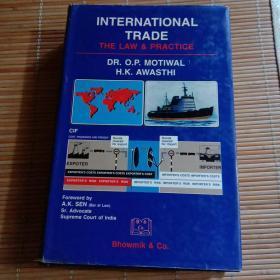 INTERNATIONAL TRADE THE LAW 精装16开本(2-5)