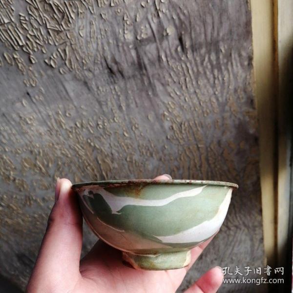 90年代搪瓷鐵碗