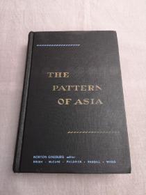 THE PATTERN OF ASIA(亚洲模式),1958年版精装英文原版财经类著作,The Pattern of Asia